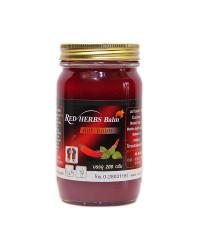 Warming balm red chili formula (Novolife) - 200g.