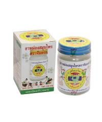 Natural soft white balm Chantra (Thai Herbal Hong Thai) - 50g.