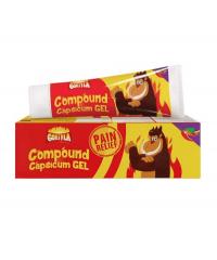 Capsicum Gel (Gorilla) - 50g.