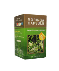 Phytopreparation Moringa capsules (Khaolaor) - 200 capsules.