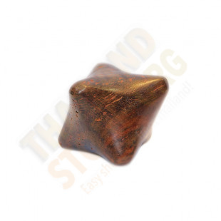 Wooden six-sided die for massage (Hand Made) - 1 pc.
