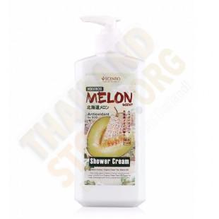 Scentio Hokkaido Melon Scent Shower Cream  (SCENTIO) - 490ml.