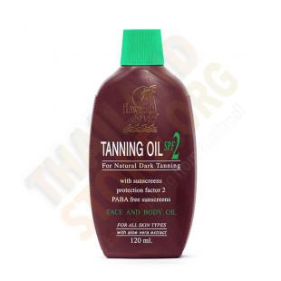 Sun Oil Body and Face (Coconut Tanning Oil SPF2) - 120ml.