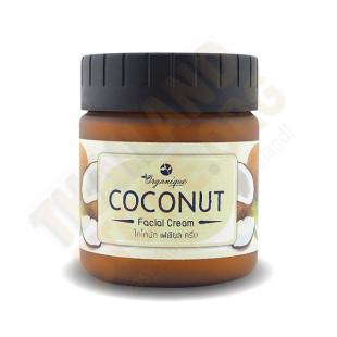 Coconut Facial Cream (Organique) - 150g.