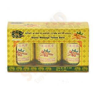 GOLD ELEPHANT YELLOW BALM (50G*3/box)