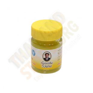 Yellow Thai body balm (Wang Prom) - 20g.