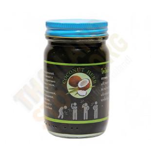 Thai traditional Black Balsam (Coconut Herb) - 100g.