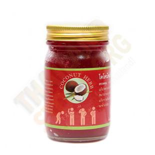 Thai red body balm warming (Coconut Herb) - 200g.