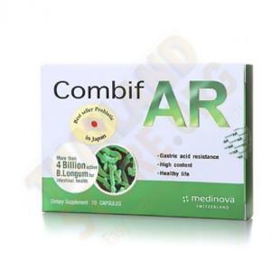Intestinal probiotic 4 million Bifidobacteria (Combif AR) - 10 capsules.
