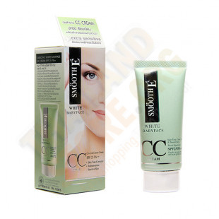 Corrective and toning cream for sensitive skin (Smooth-E) - 30g.